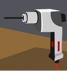 Drilling machine vector