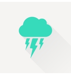 flash icon Epsgreen0 vector image