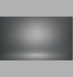 Gray studio background backdrop spotlight lightbox vector