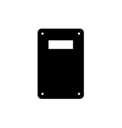 military handle shield icon vector image