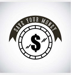 Money sign design vector