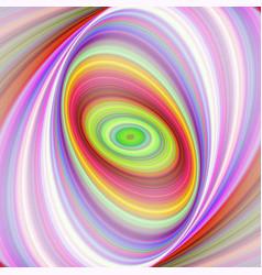 Multicolored elliptical fractal art background vector