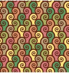 Spirals background vector
