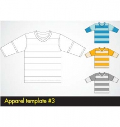 V-neck template vector