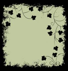 grunge frame and border vector image vector image