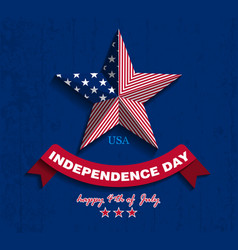independence day1 vector image vector image