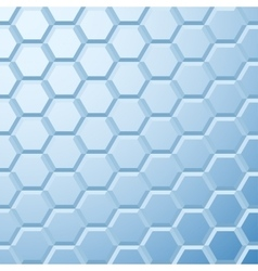 Abstract blue tiled background vector image