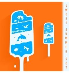 Symbol Sweet Summer vector image vector image