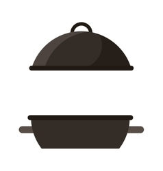 oven grill bbq icon vector image