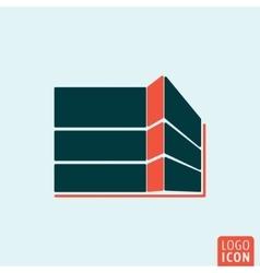 Building construction icon vector image vector image