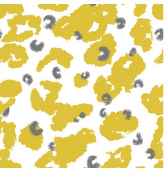Abstract animalistic print with spots pattern vector