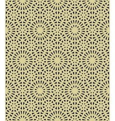 abstract geometric ethnic ornament vector image