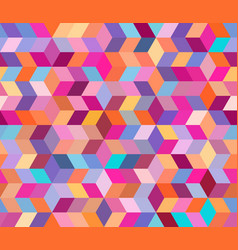 abstract geometric pattern with geometric shapes vector image