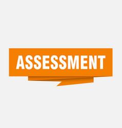 Assessment vector