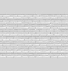 Brick wall background gray texture vector