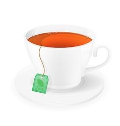 Cup of tea 05 vector
