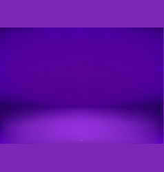 empty purple studio smooth purple colors vector image