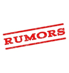 Rumors Watermark Stamp vector