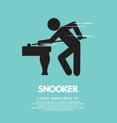Snooker Player vector