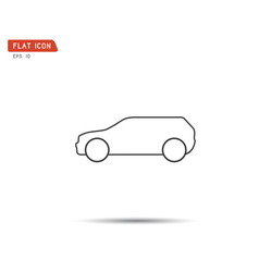 Sports car logo company icon vector