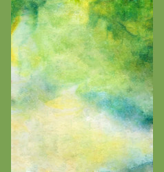 Abstract bright green blue yellow vector