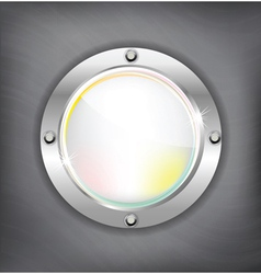 metal shiny background vector image