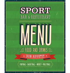 Sport Bar vector image