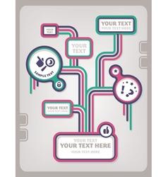 web design template vector image vector image