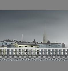 00104 city 2 vector image