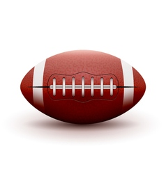 American Football ball isolated on white vector