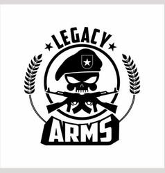 Army logo emblem vector