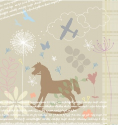 beautiful design vector image