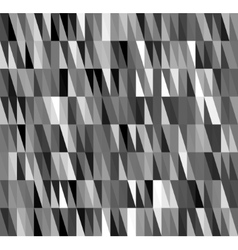 Black Seamless Triangle Abstract Background vector image