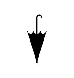 closed umbrella icon vector image
