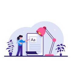Copywriting job home based copywriter freelance vector