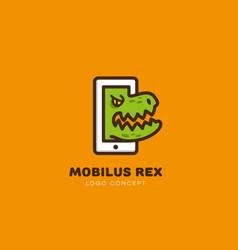 Mobilus rex logo vector