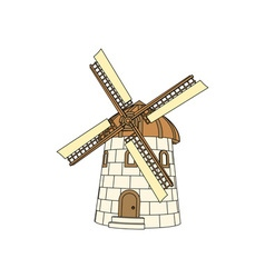 Windmill-380x400 vector image
