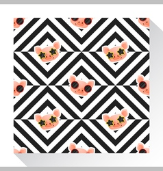 Animal seamless pattern collection with piggy 4 vector