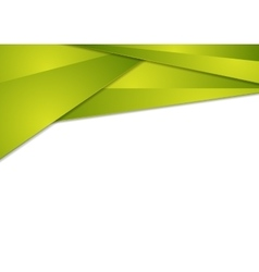 Bright green tech abstract background vector