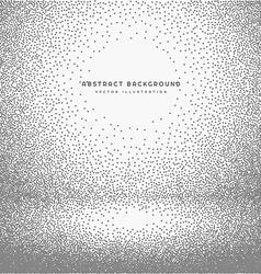Empty room dots background vector