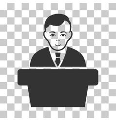 Politician Icon vector