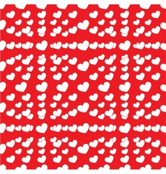seamless lot of heart vector image