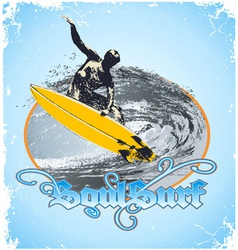 Soul surf vector