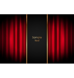 Stage - background vector image