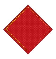 Isolated chinese label vector image