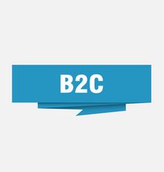 b2c vector image