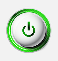 Color power button vector