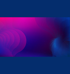 Colorful abstract geometric background fluid vector