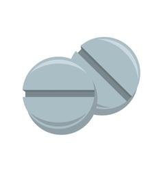 Pill medicine drug icon vector