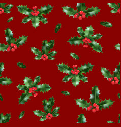 red festive backdrop vector image